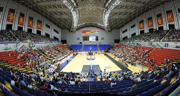 标赛哈尔滨站在东北林业大学体育馆举行